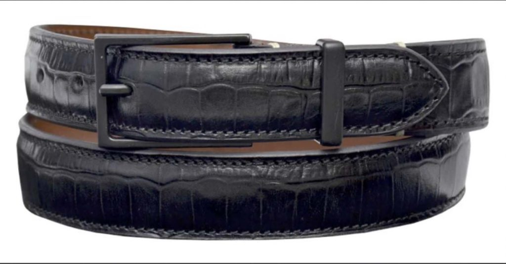 Leather belts10